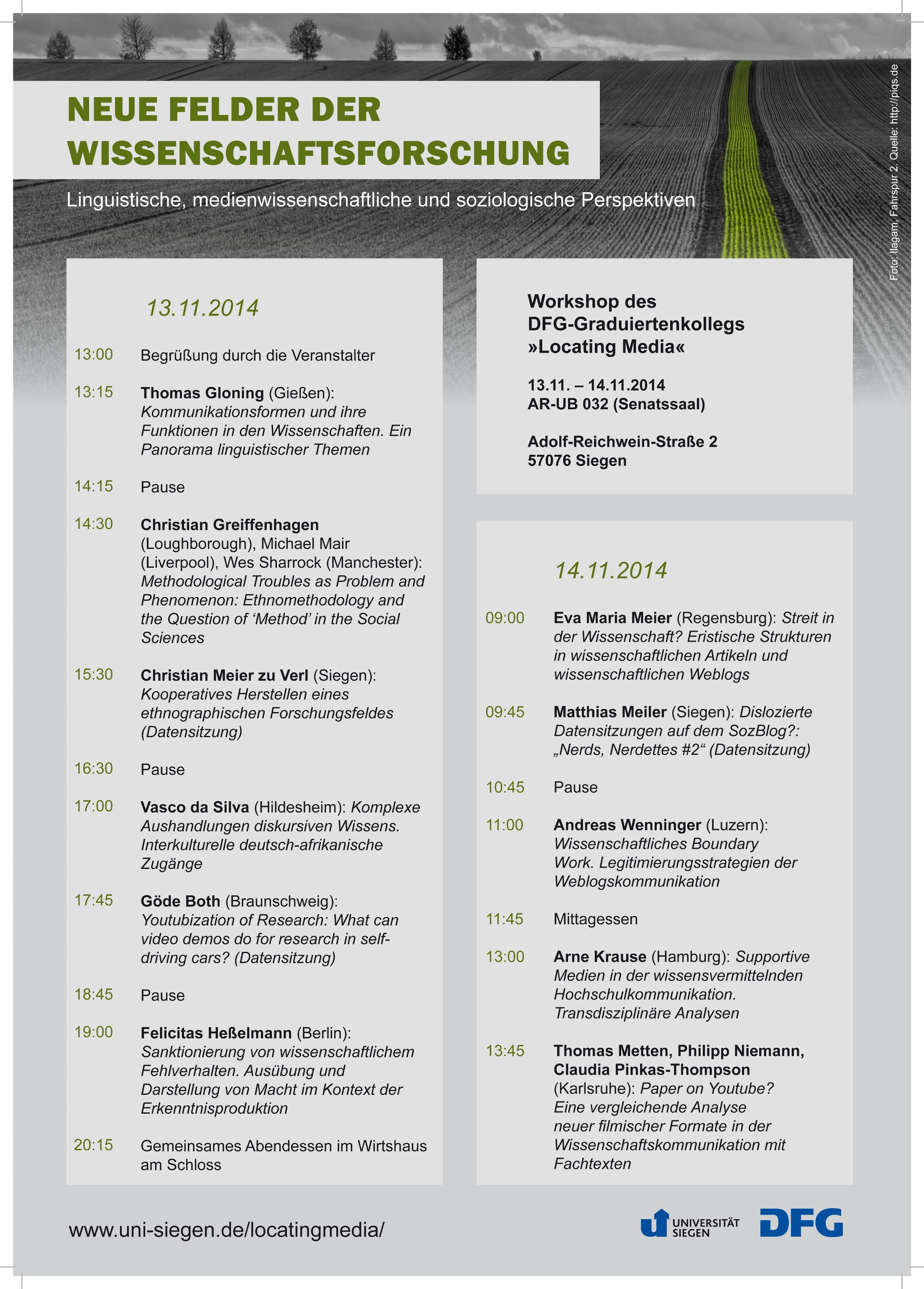 Plakat_Neue Felder der Wissenschaftsforschung_kl